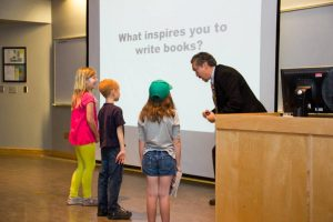 Bad Kitty author Nick Bruel talks books
