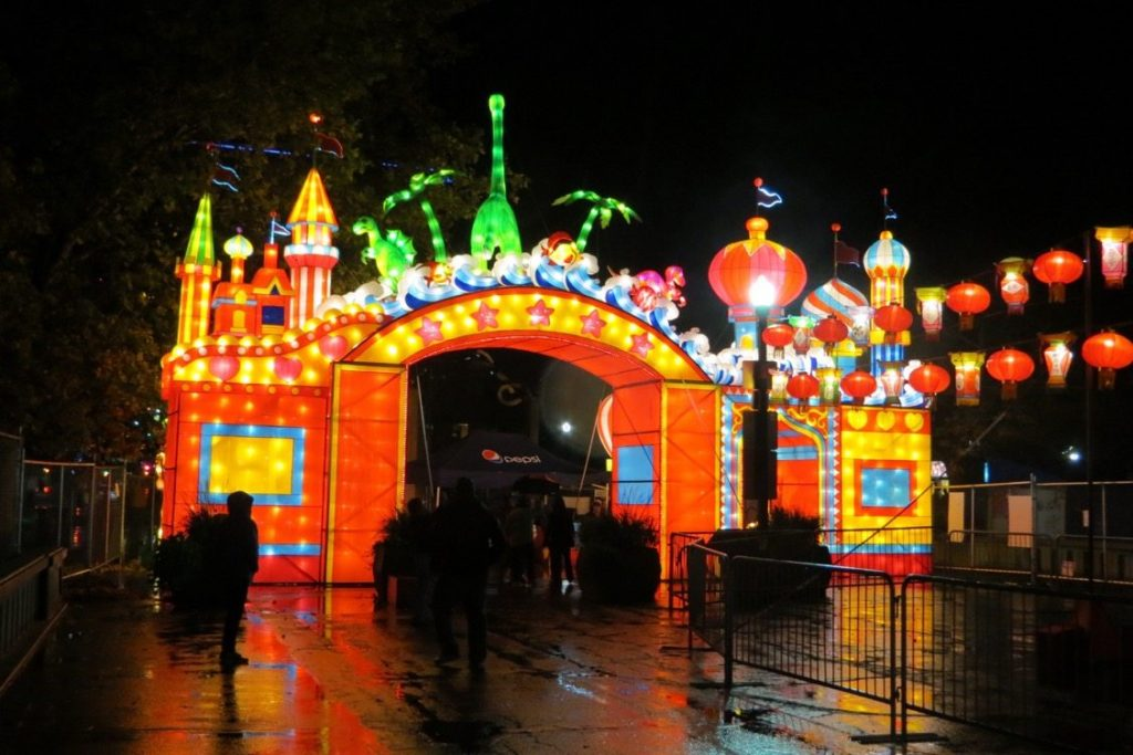 The Chinese Lantern Festival is a wonderland of light and color