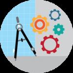 Design, Building, & Manufacturing Icon
