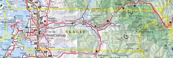 skagit county map