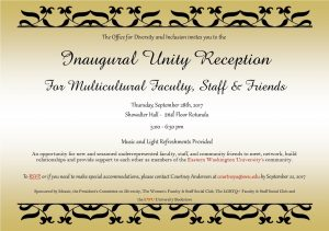 Unity Reception
