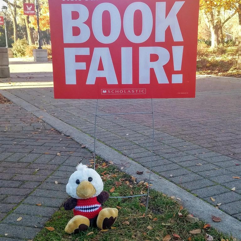Obed goes to the book fair