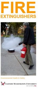 Cover image for Fire Extinguisher brochure