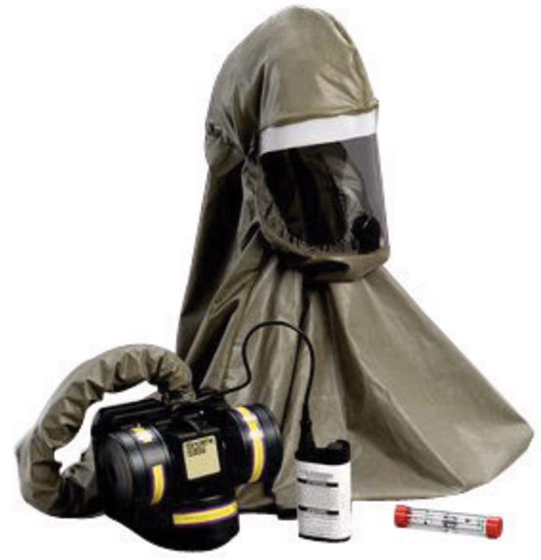 powered air purifying respirator hood
