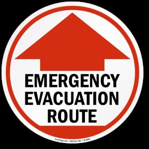 Emergency Evacuation Route image