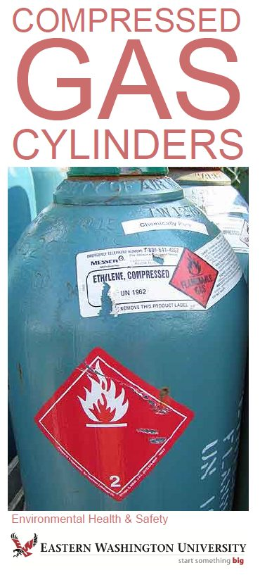 Cover for Compressed Gas Cylinders brochure