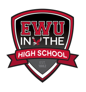 EWU In the High School Logo