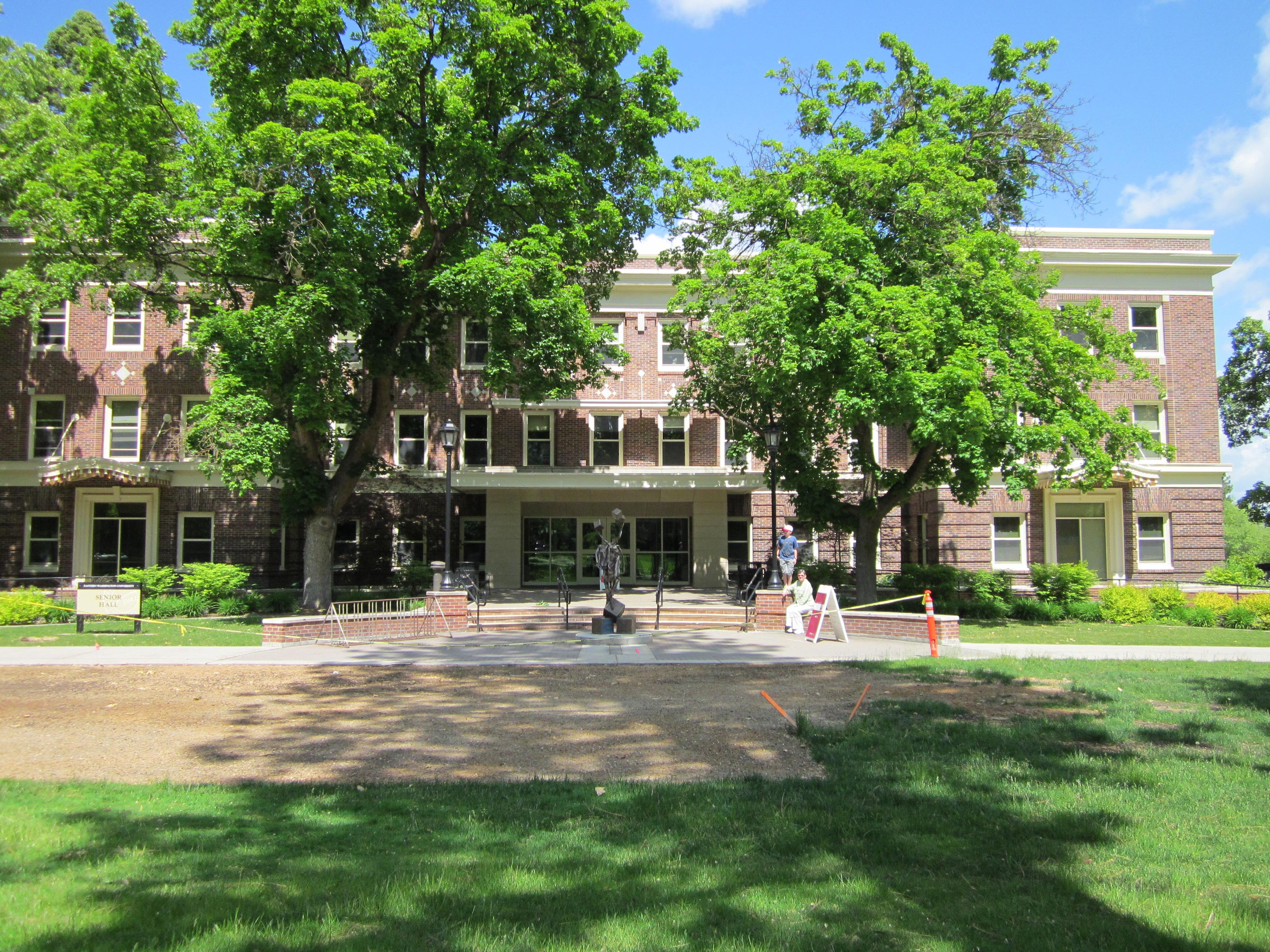 School of Social Work Senior Hall Eastern Washington University