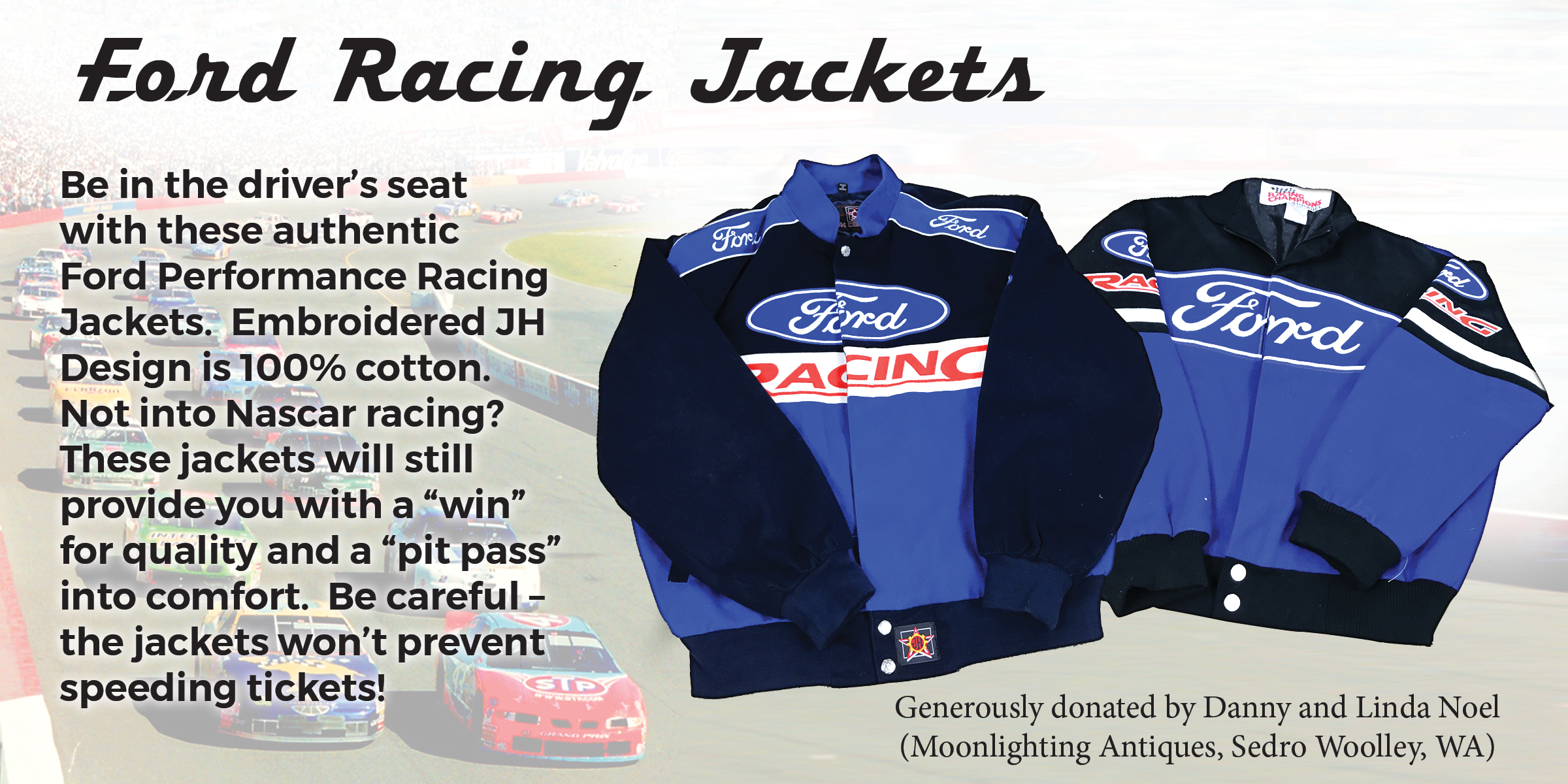 Ford Racing Jackets