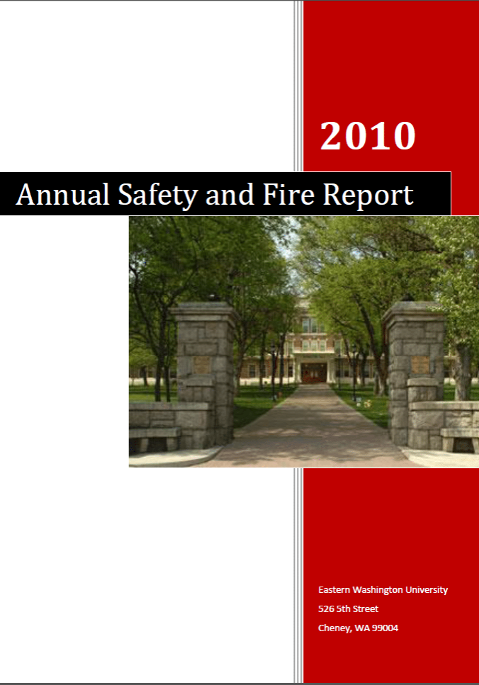 Annual Security & Fire Safety Report 2010
