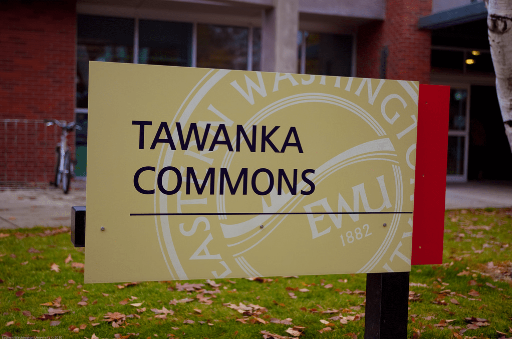 Tawanka Commons Sign