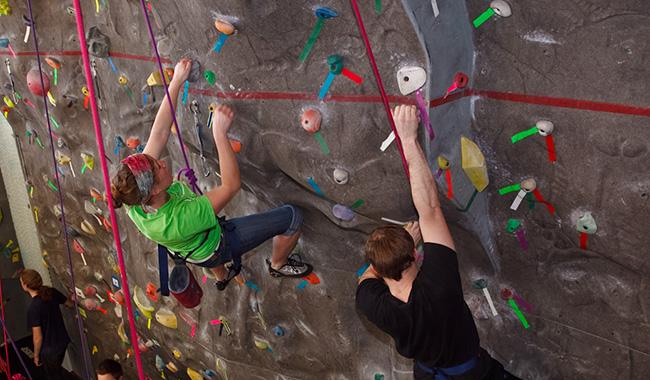 Rock Climbing at EWU URC