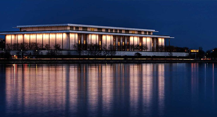 Photo: The Kennedy Center in Washington D.C.