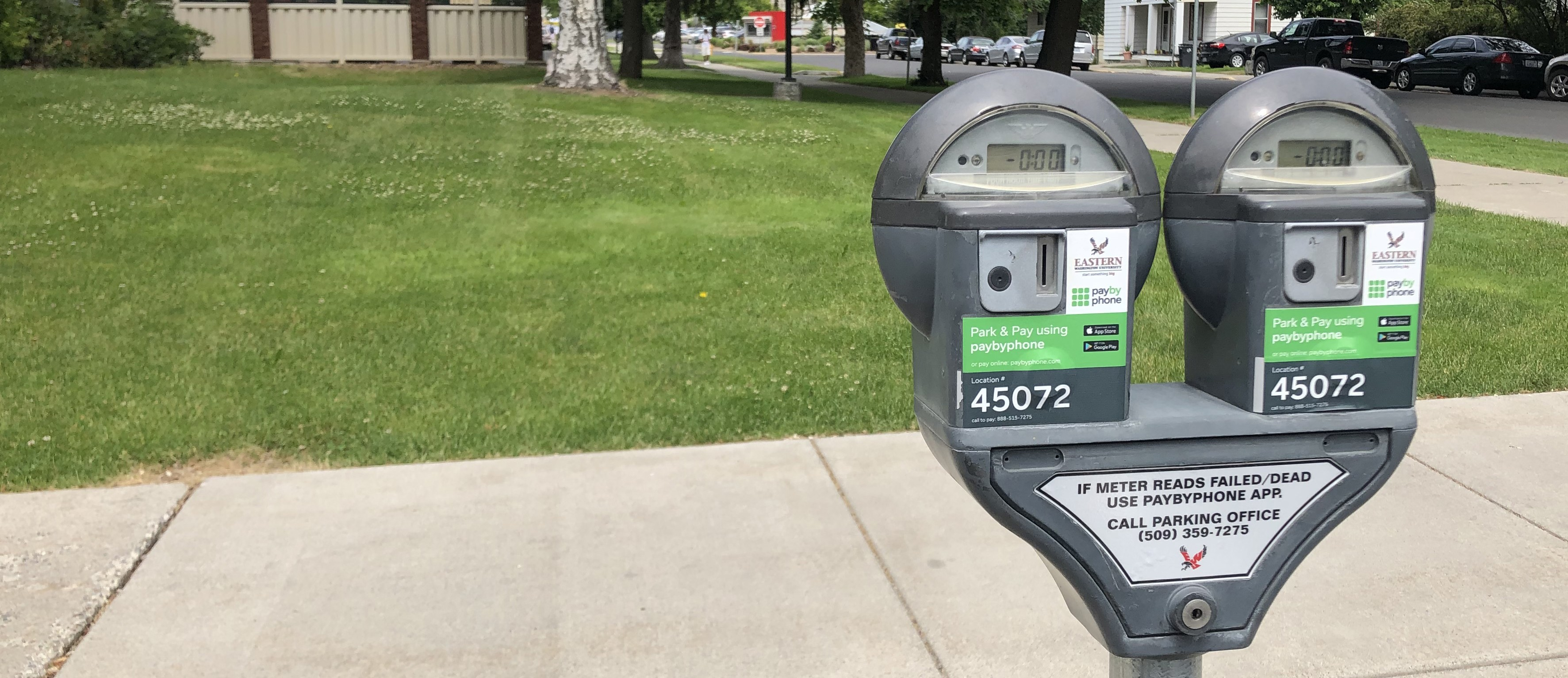 Coin Parking Meters
